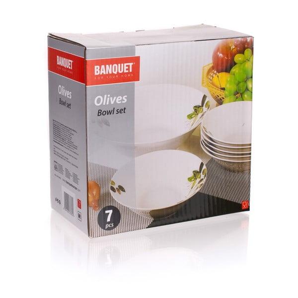 Sada misek Banquet Olives, 7ks
