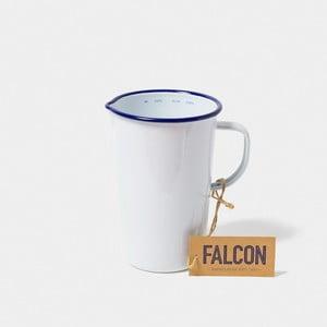 Bílý smaltovaný džbán Falcon Enamelware DoublePint, 1,137 l