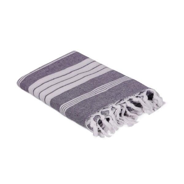 Fialový ručník, 170 x 90 cm