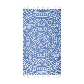 Prosop hammam Kate Louise Mirabelle, 165 x 100 cm, albastru imagine