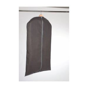 Šedý závěsný obal na šaty Compactor Garment, délka100cm