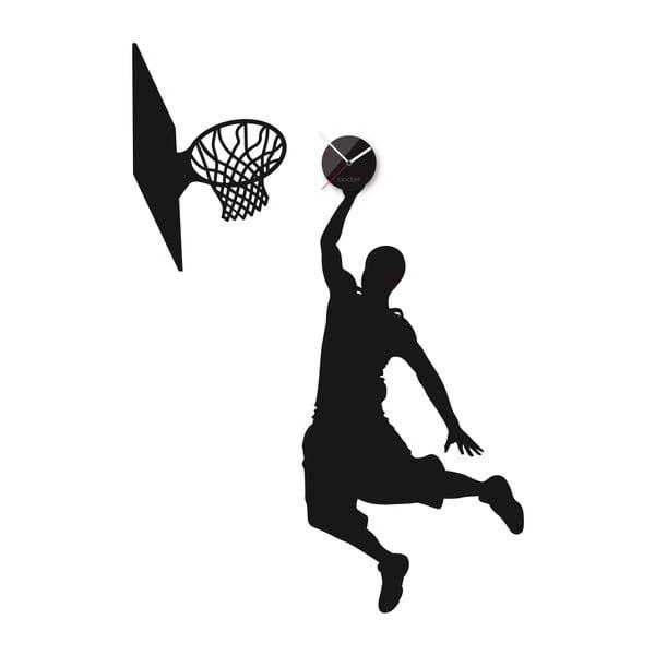 Hodiny se samolepkou Basketball