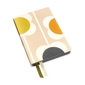 Zápisník v měkké vazbě Orla Kiely Abacus, 384stran
