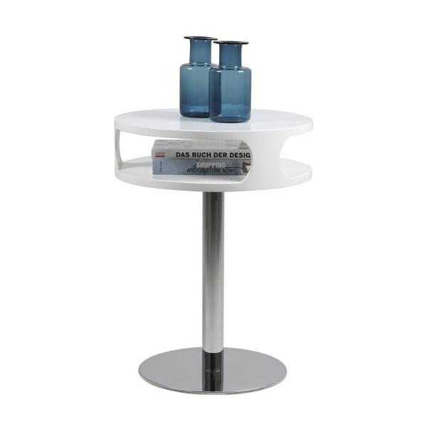 Bílý konferenční stolek Actona Caspian, výška 60 cm