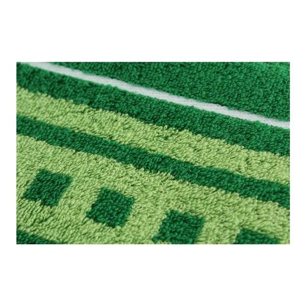 Set 2 osušek Green, 70x140 cm