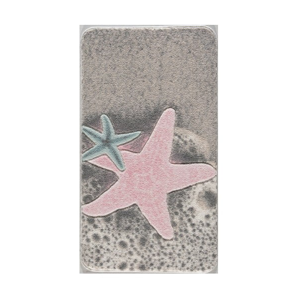 Předložka do koupelny s motivem hvězdice Confetti Bathmats, 57 x 100 cm