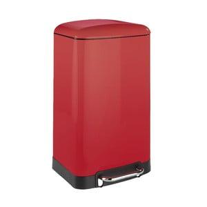 Coș de gunoi Wenko, 30 l, roșu
