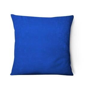 Modrý sametový povlak na polštář Series, 43x43cm