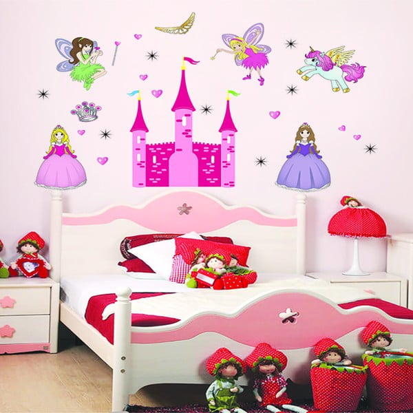 Autocolant Ambiance Princess Castle