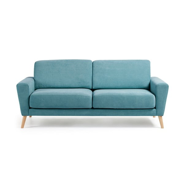 Turkusowa sofa La Forma Guy