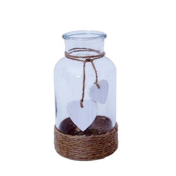Skleněná lahvička se srdíčky Bolzonella