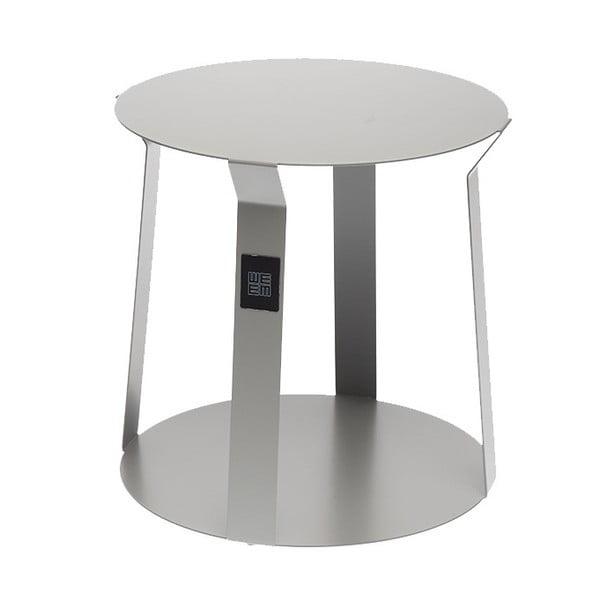 Šedý příruční stolek MEME Design Freeline