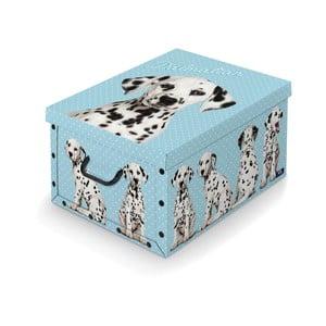 Úložný box s rukojetí Domopak Dalmatin, délka 50cm
