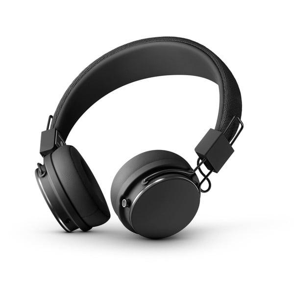 Černá bezdrátová Bluetooth sluchátka s mikrofonem Urbanears PLATTAN II BT Black