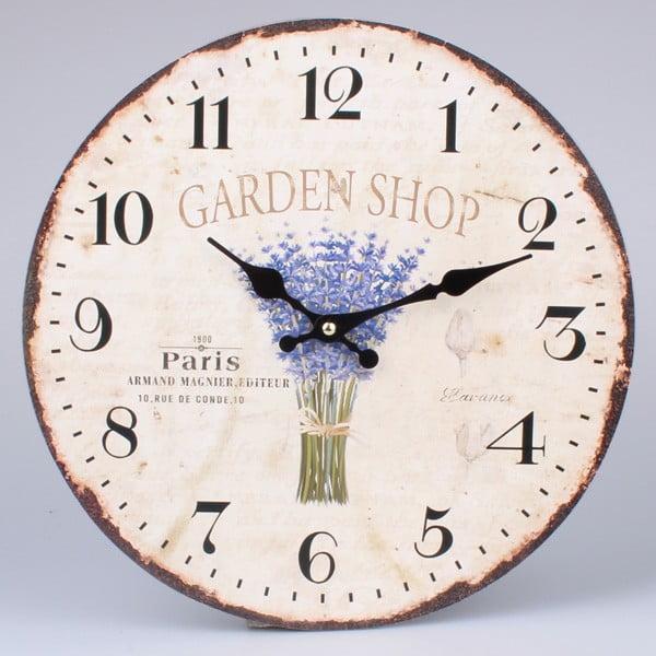 Nástěnné hodiny Garden Shop