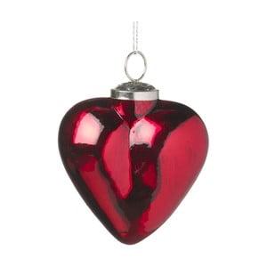 Vánoční ozdoba Parlane Red Heart