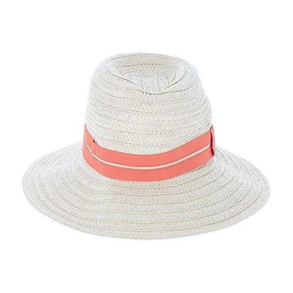 Béžový slaměný klobouk BLE by Inart