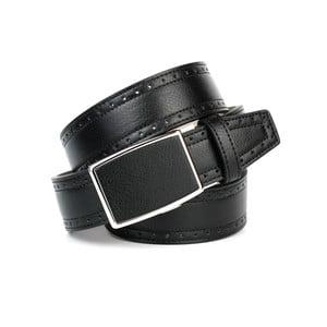 Unisex kožený pásek 18Т10H Black, 110 cm
