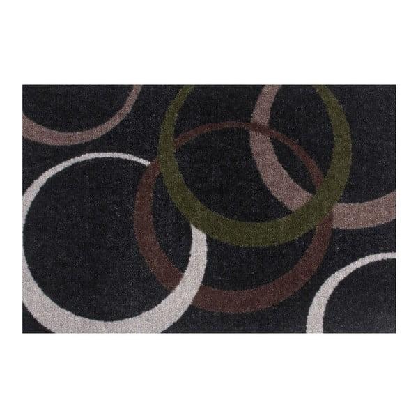 Rohožka Bonjour 100 Black, 40x60 cm