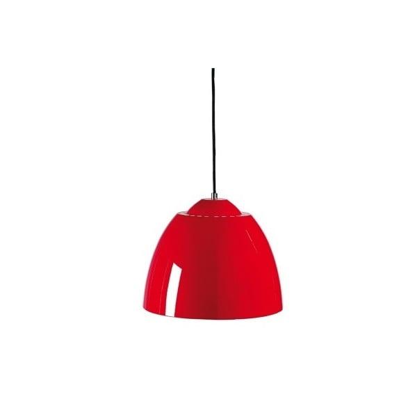 Stropní lampa B-light, červená