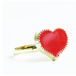Prsten Red Heart