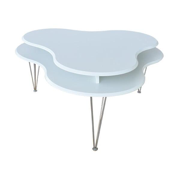 Bílý konferenční stolek RGE Cloud
