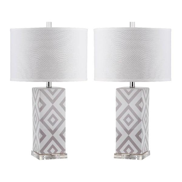 Sada 2 stolních lamp Safavieh Aidan