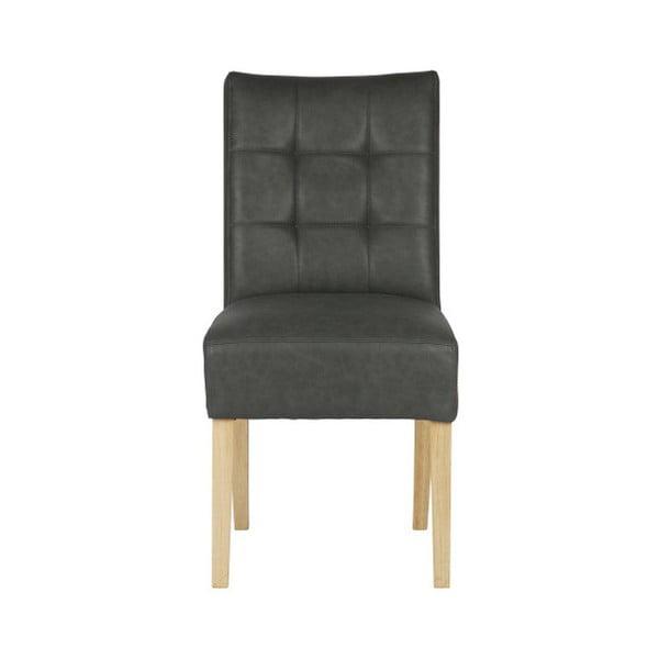 Sada 2 šedých jídelních židlí De Eekhoorn