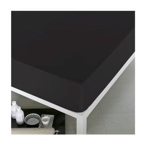 Prostěradlo Home Black, 100x200 cm