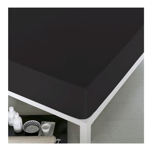 Prostěradlo Home Black, 160x200 cm