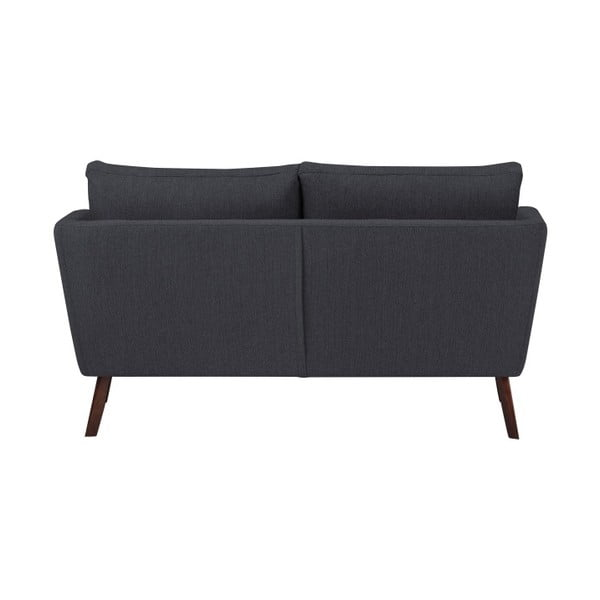 Canapea cu 2 locuri Mazzini Sofas Elena, gri închis