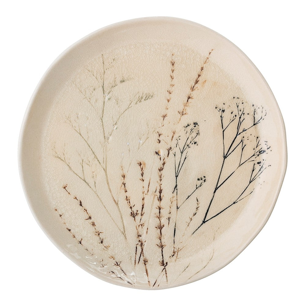 Kameninový talíř Bloomingville Bea, průměr27,5 cm