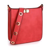 Červená kabelka L&S Bags Duna