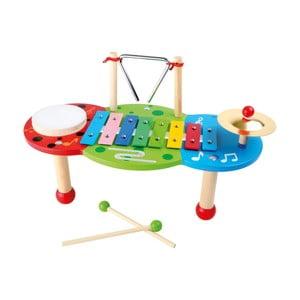 Dřevěný hudební stolek na hraní Legler Deluxe