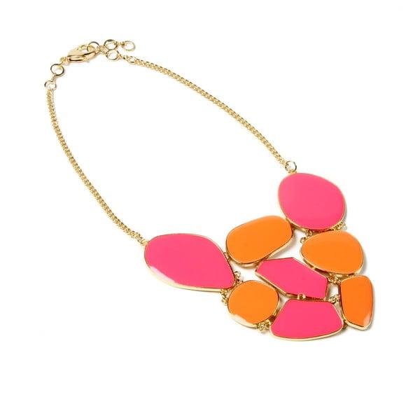 Náhrdelník Grand Pink/Orange