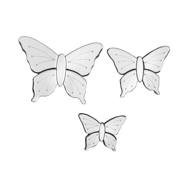 Nástěnní zrcadloví motýlci Mirror