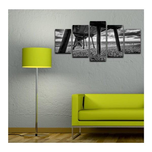Vícedílný obraz Black&White Sea