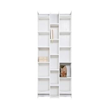 Bibliotecă WOOOD Grenen,moduldebază, alb imagine