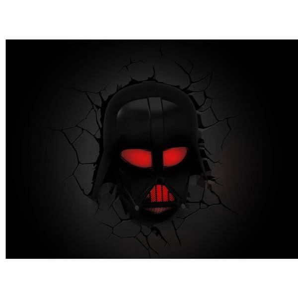 Nástěnné světlo s nálepkou Tnet Darth Vader