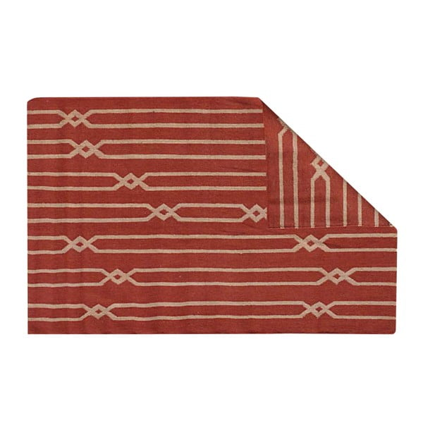 Ručně tkaný koberec Kilim D no.739, 155x240 cm