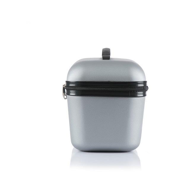Cestovní taška Brand Developpement Vanity, stříbrná