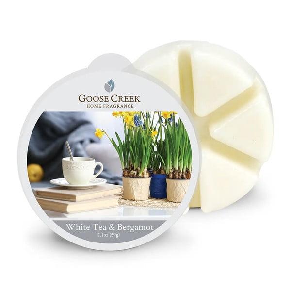 Vonný vosk do aromalampy Goose Creek Bílý čaj s bergamotem, 65 hodin hoření