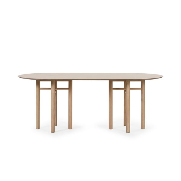 Owalny stół Teulat Junco, dł. 200 cm