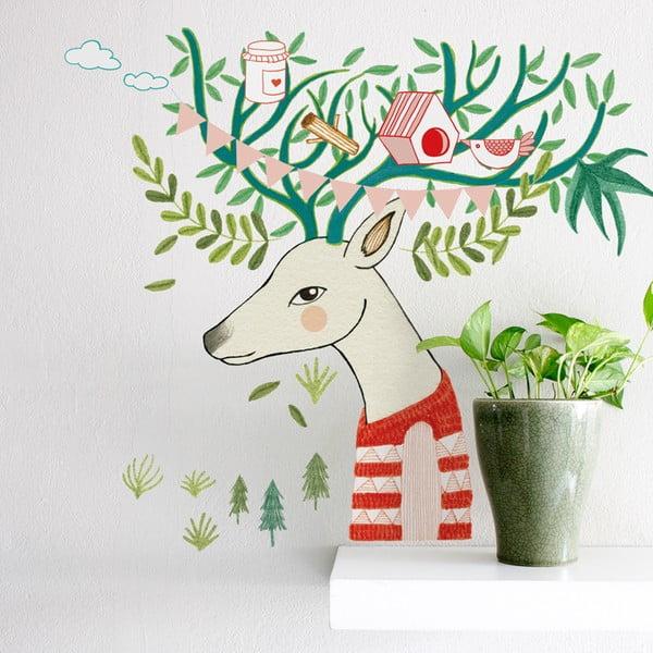 Samolepka Chispum Tree Deer