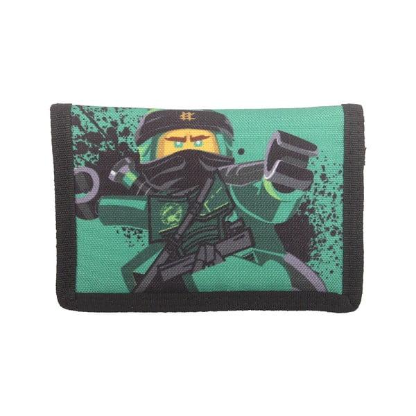 Zelená peněženka LEGO® NINJAGO Lloyd