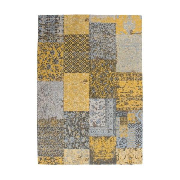 Koberec Jacquard Gold, 80x150 cm