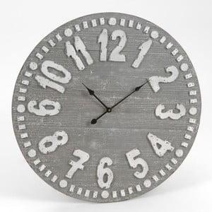 Nástěnné hodiny Black&Grey Clock