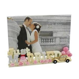 Rámeček na fotografii Celebrations Just Married, profotografii10x15cm