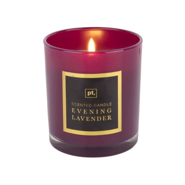 Świeczka o zapachu lawendy PT LIVING Scented Candle, 35 h