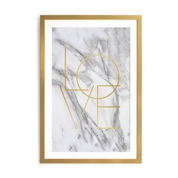 Tablou Velvet Atelier Marble, 40 x 60 cm